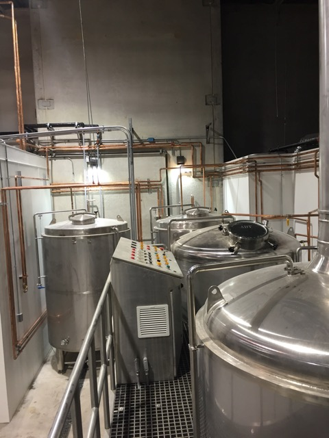15-bbl/17-hl brewing system at Black Belt Brewery - Lake Zurich, IL