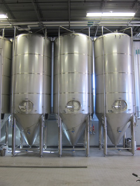 120-bbl FVs at Half Acre Brewing - Chicago, IL