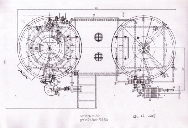 The Abt 15 Bbl 17 25 Hl Brewing System Drawings Allied