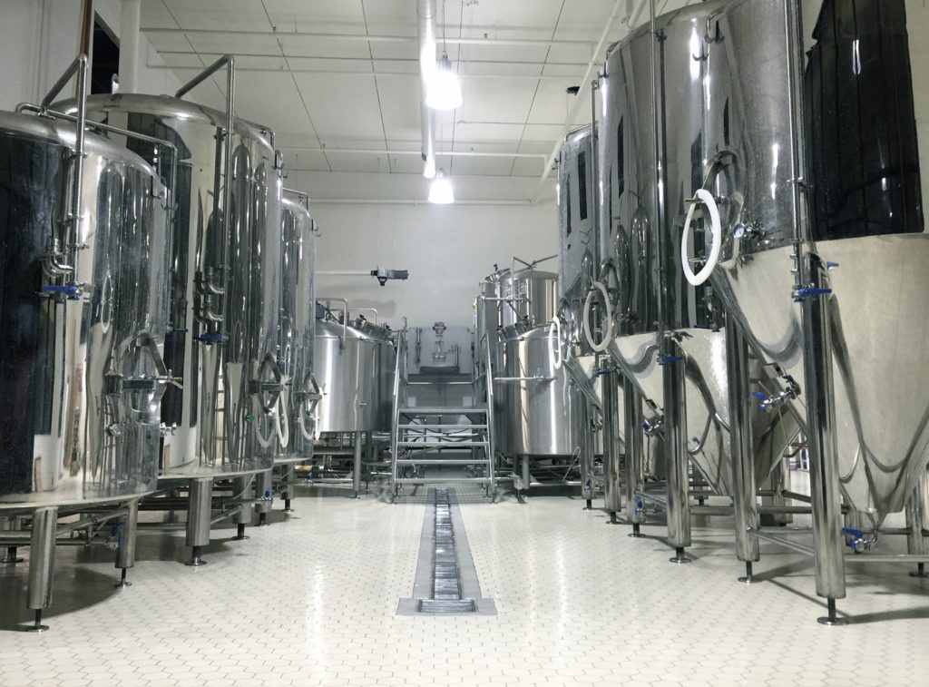 60-bbl FVs and BBTs at Schulz Brau Brewing - Knoxville, TN