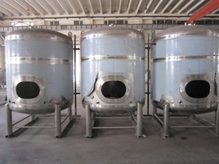 New 30-bbl/35-hl Single Shell Conditioning/Serving Tanks