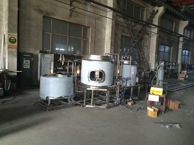 New 3 5 Bbl 4 Hl Brewing System Photos Allied Beverage