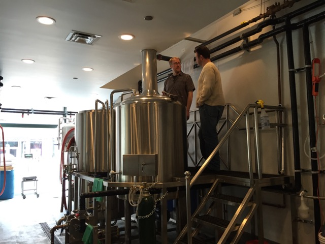 New 3 5 Bbl 4 Hl Brewing System Allied Beverage Tanks