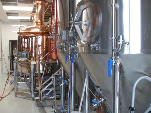 Allied Beverage Tanks 8 5 Bbl 10 Hl Brewing System